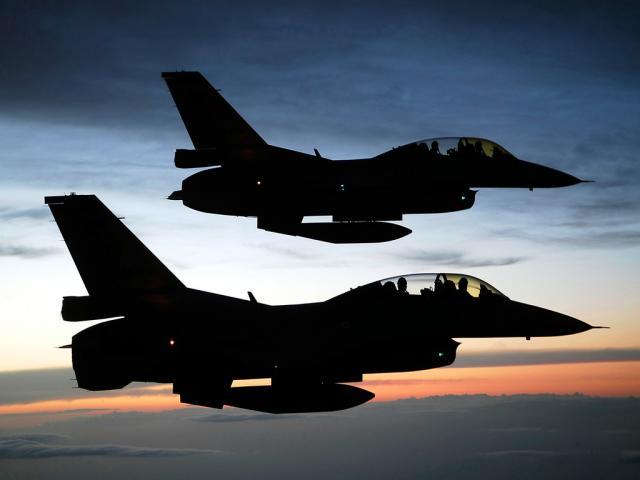 F-16 Ilustrasi Wallpaper